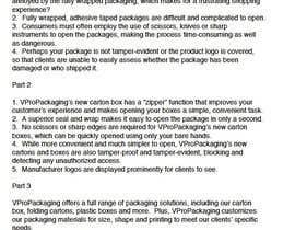 Nro 3 kilpailuun Write my Product Descriptions käyttäjältä lzuccari