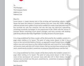 msranask tarafından Design a letterhead için no 18