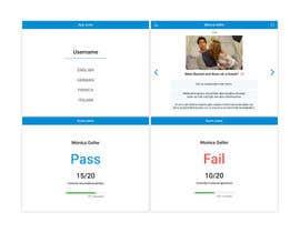 maryanakons tarafından Screendesign of questionnaire app için no 3