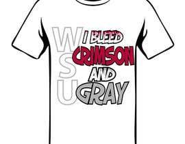 Nro 98 kilpailuun Design a T-Shirt for WSU College käyttäjältä Drhen
