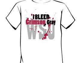 Nro 25 kilpailuun Design a T-Shirt for WSU College käyttäjältä salutyte