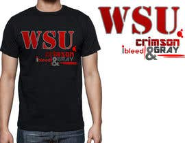 #42 for Design a T-Shirt for WSU College by percivaldeserra