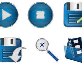 Nro 31 kilpailuun Design some Icons for video player käyttäjältä Rightwaydesign