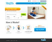 Proposition n° 115 du concours Graphic Design pour Website Design for Tonybin (simple and cool designs wanted)