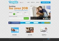 Proposition n° 170 du concours Graphic Design pour Website Design for Tonybin (simple and cool designs wanted)