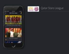Nro 2 kilpailuun Design an App Mockup Football League app käyttäjältä UniateDesigns