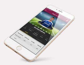 Nro 7 kilpailuun Design an App Mockup Football League app käyttäjältä UniateDesigns