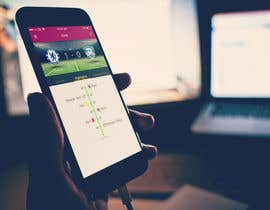 UniateDesigns tarafından Design an App Mockup Football League app için no 20
