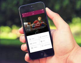 Arteer tarafından Design an App Mockup Football League app için no 17