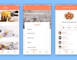 Nro 70 kilpailuun Design a mobile app UI käyttäjältä fruslanz
