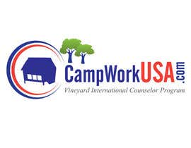 #67 para Design a Logo for CampWorkUSA.com por Alicina