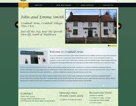 #2 para Design a Website Mockup for Local Pub por MagicalDesigner