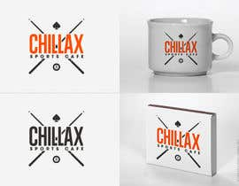 "#81 cho logo for a gaming pool sports cafe "" CHILLAX "" bởi contractA"