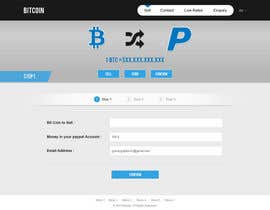 nº 16 pour Design a Website Mockup for BitCoin Website (One Page) par gravitygraphics7