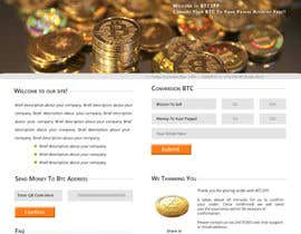 #37 for Design a Website Mockup for BitCoin Website (One Page) by shajib3006