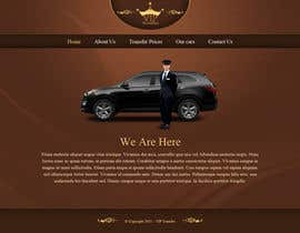 #31 para Design a Website Mockup for VIP Taxi Transfers por tania06