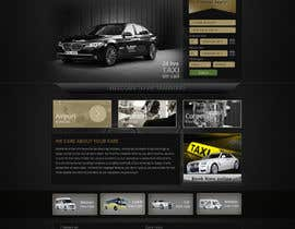 #48 for Design a Website Mockup for VIP Taxi Transfers af alpyraj81
