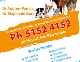 #35 untuk Graphic Design for Bairnsdale Animal Hospital oleh wantnewjob