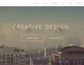 #20 untuk Design a Website Mockup oleh ConnectUDesigns