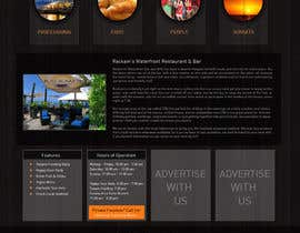 #15 for Web site mockup for restaurant and bar ( small site ) by Pixaart