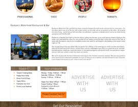 #16 cho Web site mockup for restaurant and bar ( small site ) bởi Pixaart
