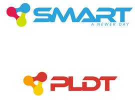 #288 for Redesign SMART Communications & PLDT's Logos! #ANewerDay af edisonmanalo