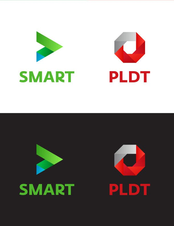 Konkurrenceindlæg #311 for Redesign SMART Communications & PLDT's Logos! #ANewerDay