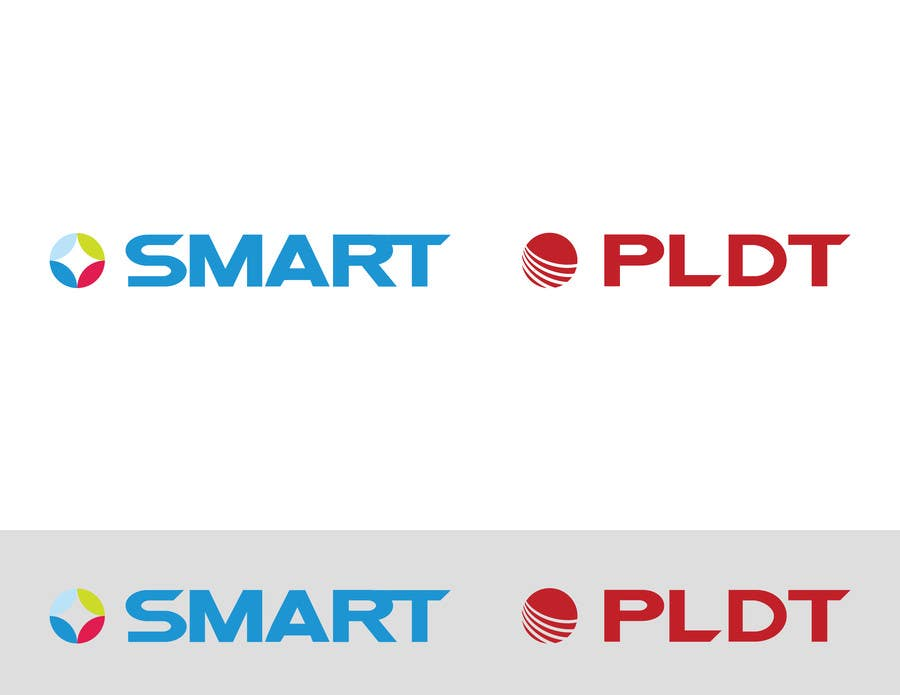 Konkurrenceindlæg #284 for Redesign SMART Communications & PLDT's Logos! #ANewerDay