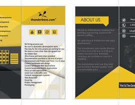 #19 cho Design a Brochure for thunderbees bởi sergiovc