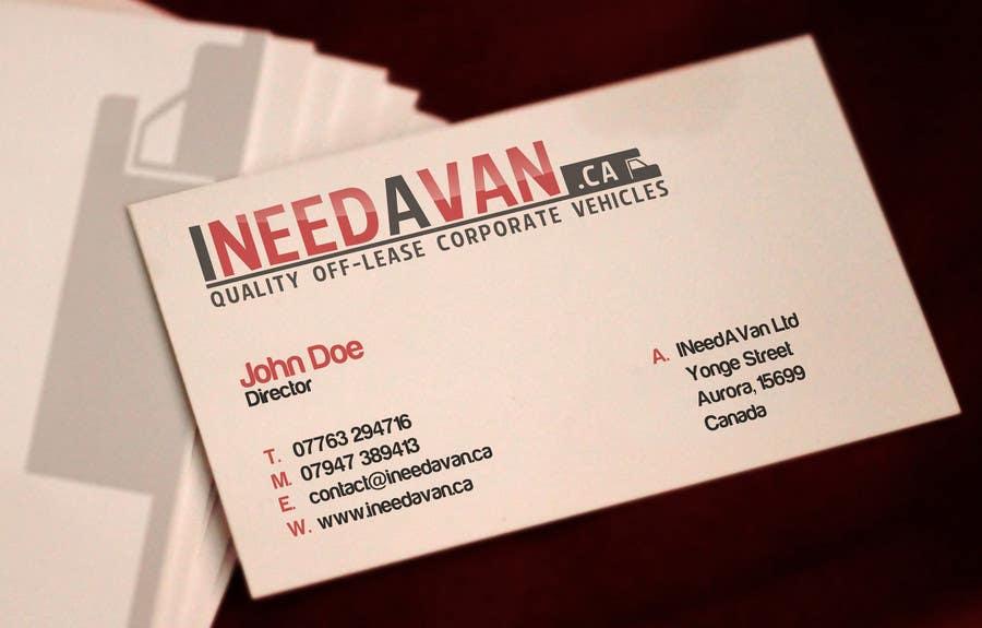 #170 for Logo Design for ineedavan.ca by Lozenger