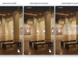 itsjosh tarafından App Design - VR Museum Tour [Mobile] + Future Contract için no 6