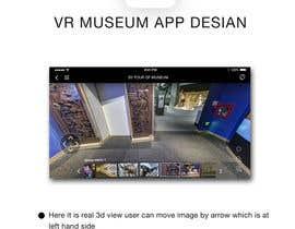 hitesh124 tarafından App Design - VR Museum Tour [Mobile] + Future Contract için no 18