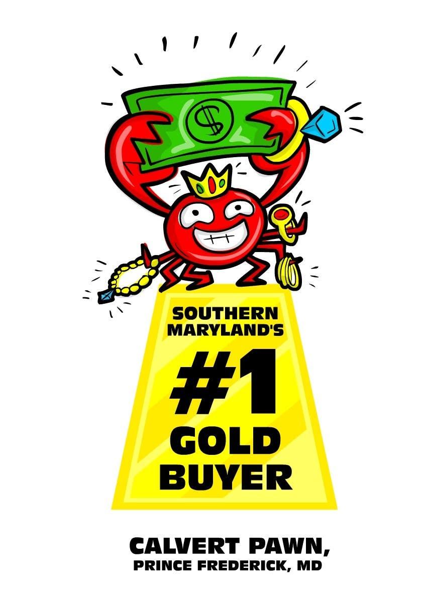 Kilpailutyö #                                        11                                      kilpailussa                                         Graphic Design for Calvert Pawn LLC