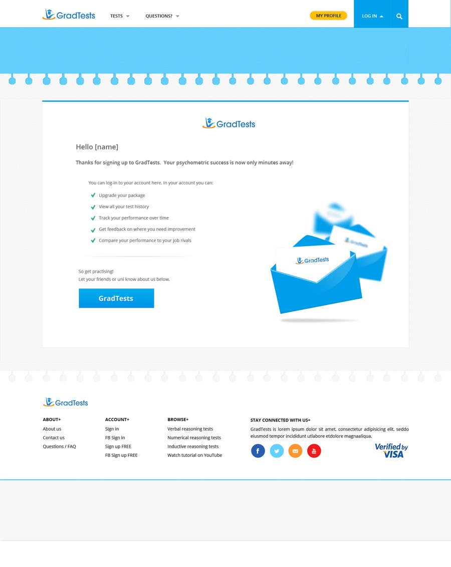 #13 for Create and/or alter 3 web pages and create 1 email template by SadunKodagoda