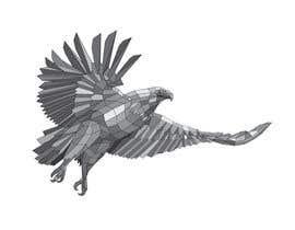 anupdesignstudio tarafından Fractal / Poly Eagle için no 2