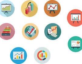 Nro 10 kilpailuun Design an Sales Chart Icon käyttäjältä Kyrierose