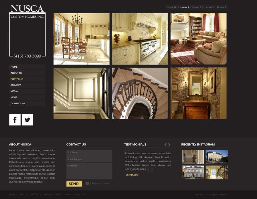 Inscrição nº 5 do Concurso para Custom Portfolio Website Design