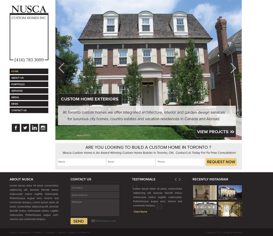 Kilpailutyö #14 kilpailussa Custom Portfolio Website Design