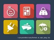 Graphic Design Entri Peraduan #15 for Design some Icons for my website