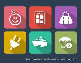suneshthakkar tarafından Design some Icons for my website için no 15