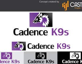 #21 for Design a Logo for Cadence K9s af CasteloGD