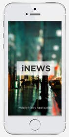 #23 for Design the User interface for a Mobile News App by cihangir