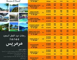 Shabonez tarafından Design a Flyer for travel agency için no 14