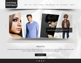 #8 para Design a Website for a Local Acting/Modeling Agency por tania06