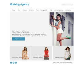 #14 para Design a Website for a Local Acting/Modeling Agency por McFOX