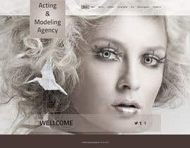 #15 para Design a Website for a Local Acting/Modeling Agency por designerartist23