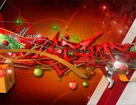 #5 for Designing a Full HD Christmas background by kikimara