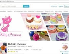 Nro 121 kilpailuun Develop a Brand Identity for Pink Kitty Princess on ETSY käyttäjältä pkrishna7676