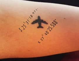 Nro 3 kilpailuun Small Tattoo design (coordinates) käyttäjältä happyrich