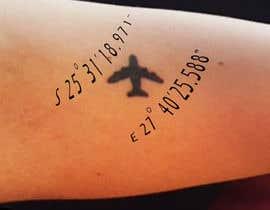Nro 5 kilpailuun Small Tattoo design (coordinates) käyttäjältä happyrich